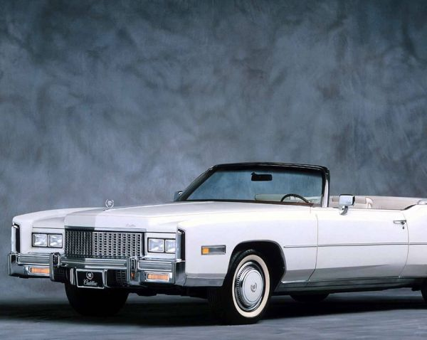 1976 Cadillac Eldorado Convertible  - Beauty queens love it. Southern businessmen love it. Steak-house owners love it. It is the Cadillac Eldorado, it has an 8-liter V8, it is nineteen feet long. All hail.