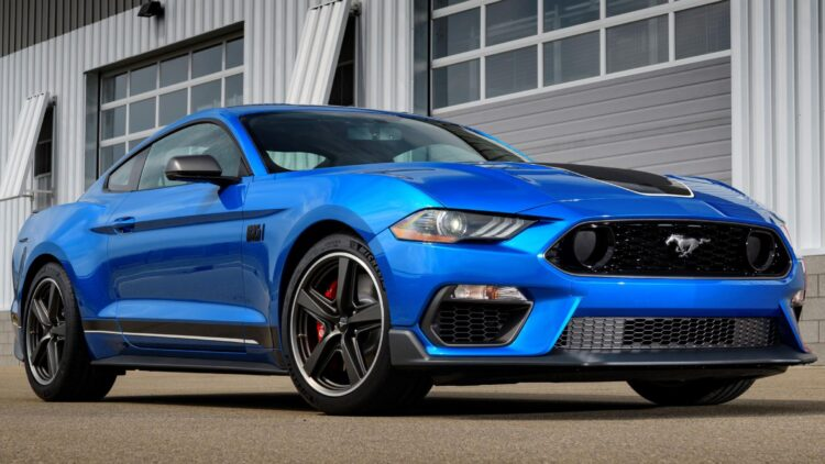 2021 Ford Mustang Mach 1  Promo