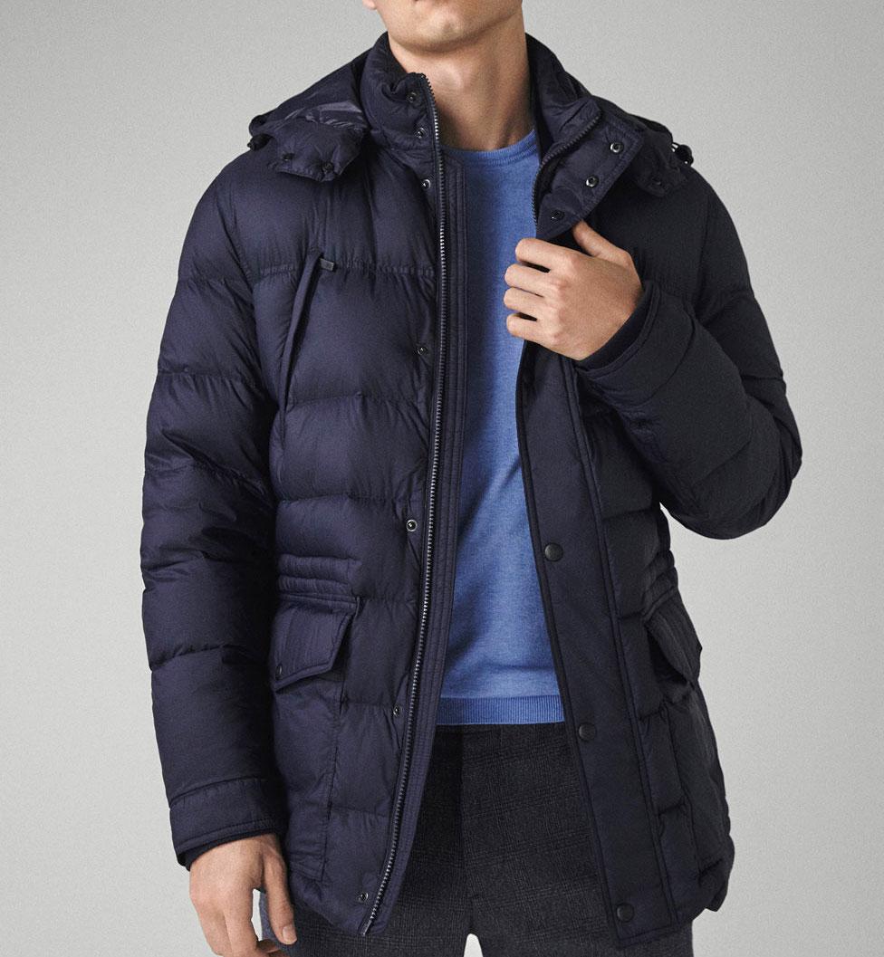 Massimo Dutti down jacket