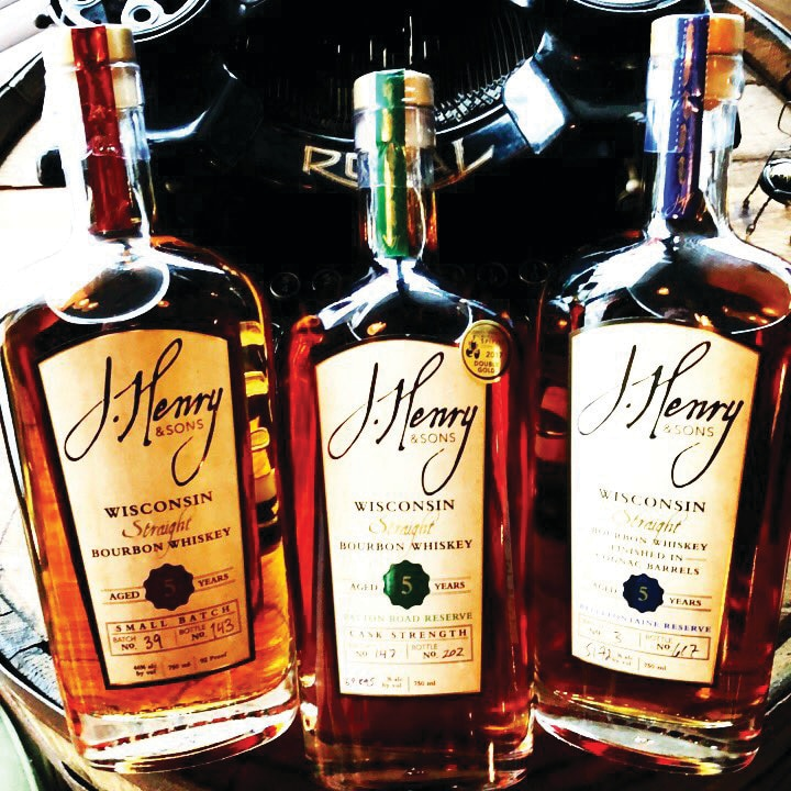 J. Henry & Sons - 5-Year Small Batch Wisconsin Straight Bourbon and 2019 10th Anniversary Limited Edition Blend