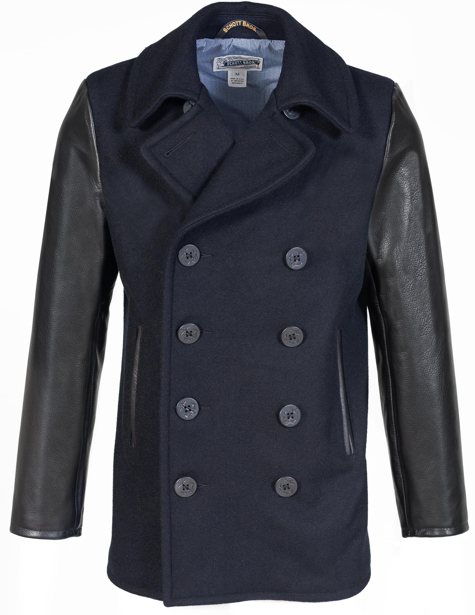 Schott NYC pea coat