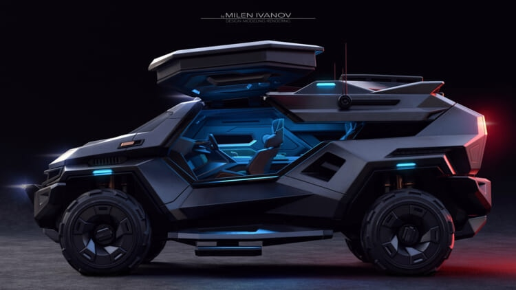 Armortruck Concept by Milen Ivanov (4)