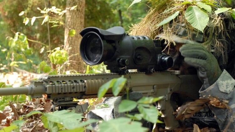 H&K Army Sniper rifle