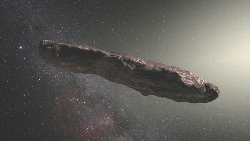 Cigar, joint, or turd-shaped asteroid Oumuamua