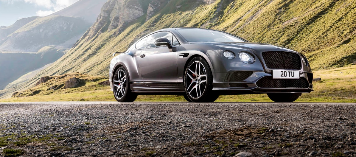 bentely continental supersport