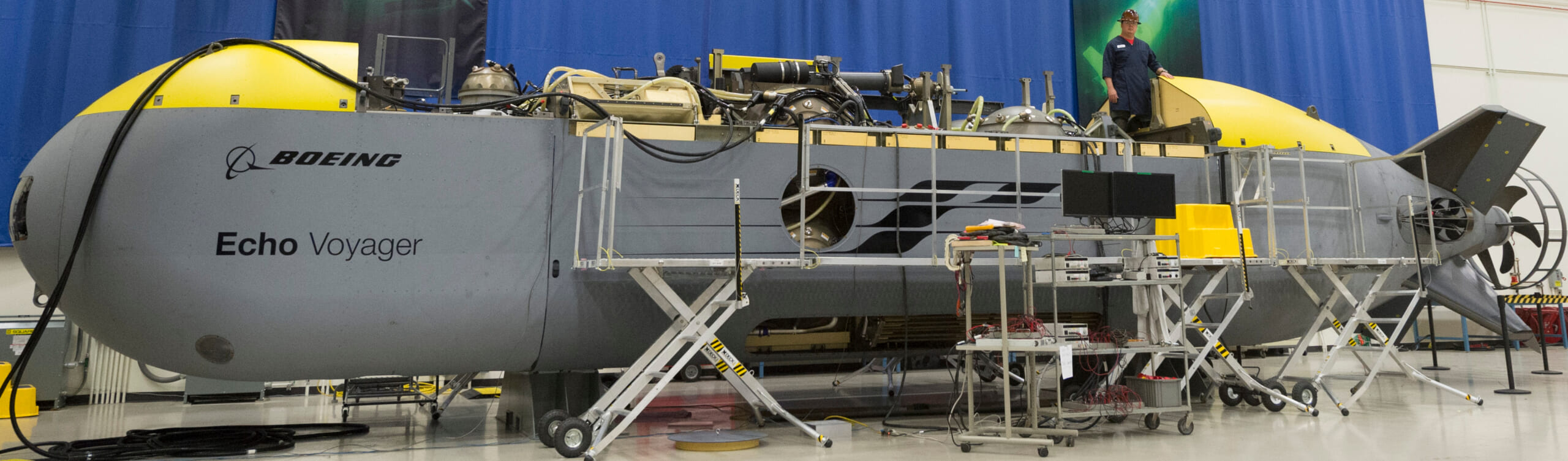 At 51 feet long, it's longer than its two predecessors combined