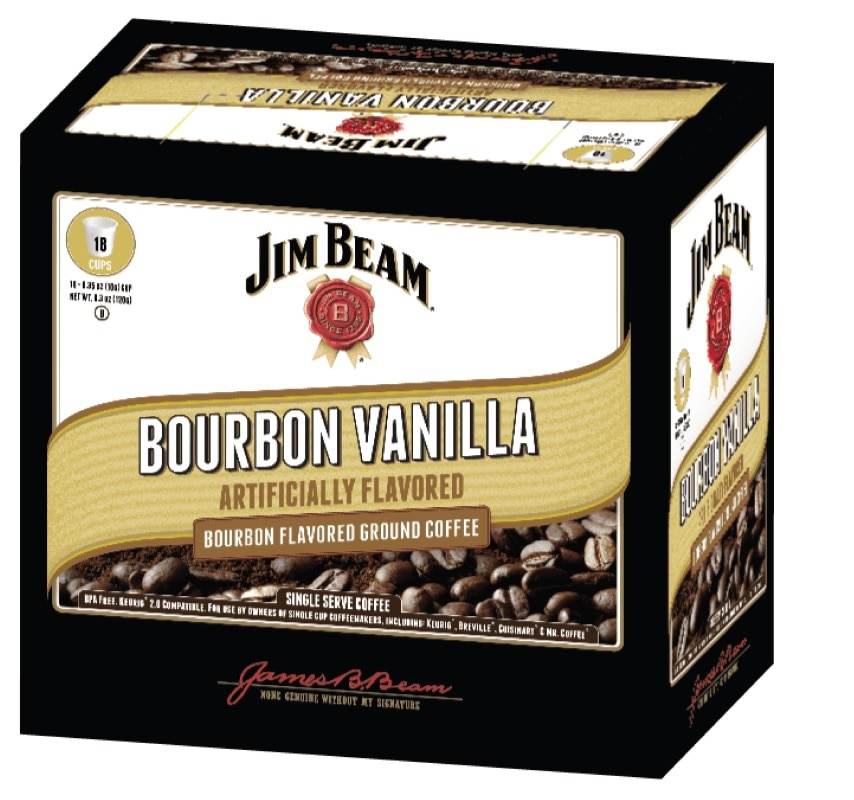 Bourbon Vanilla flavored coffee