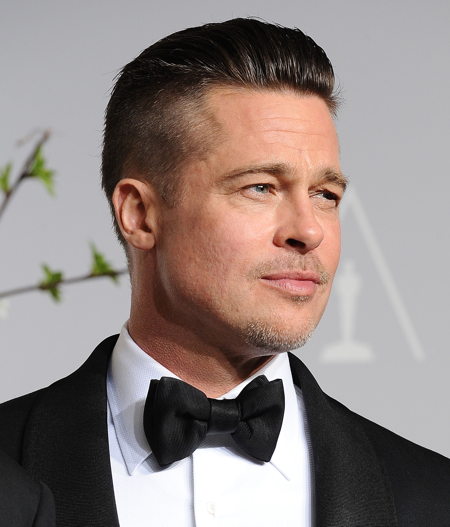 Brad Pitt - Brad's gone through a lot of haircuts over the years, but his buzzed sides and gelled-but-not-crunchy style is the best yet.Photo by:Jason LaVeris/WireImage