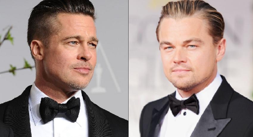 Brad Pitt, Leonard DiCaprio