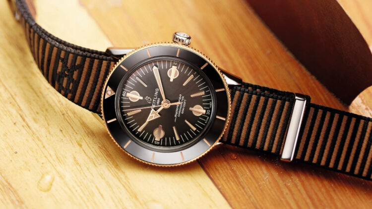 BREITLING SUPEROCEAN HERITAGE 57 OUTERKNOWN Rose Gold Promo