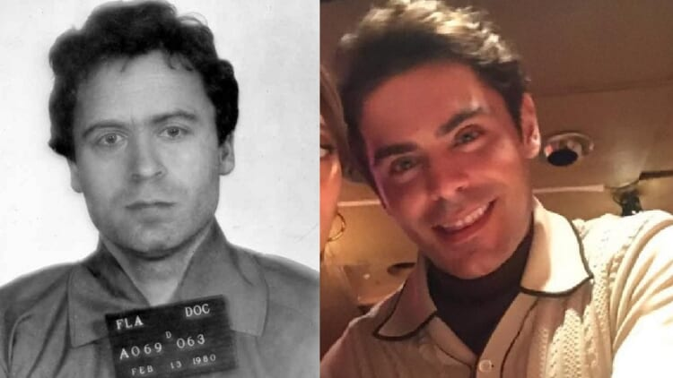 Zac Efron and Ted Bundy.