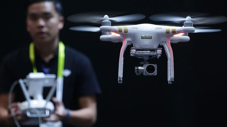 Drones are gonna be center stage