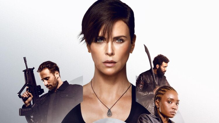 charlize theron the old guard netflix promo