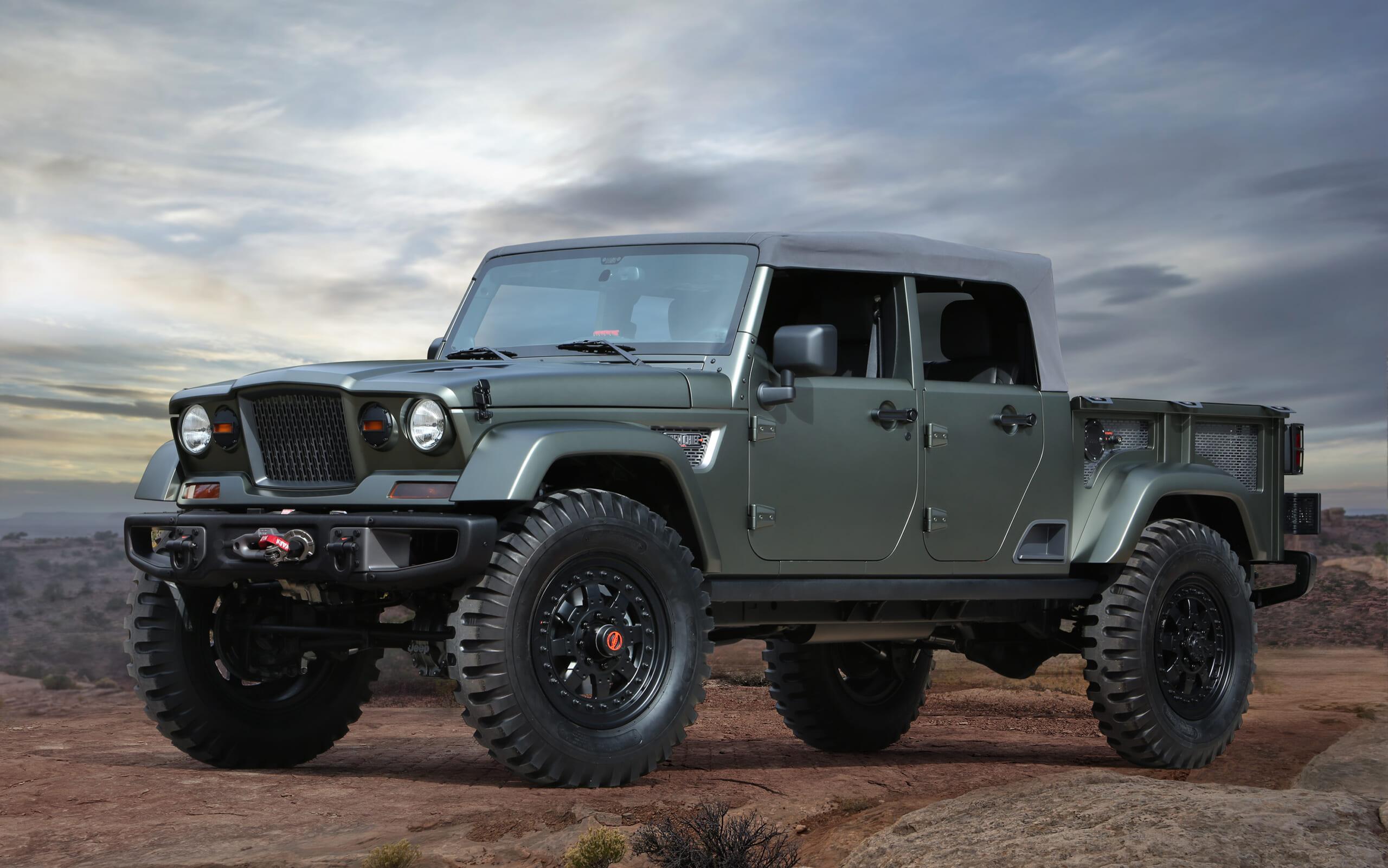 2016 Jeep Crew Chief concept