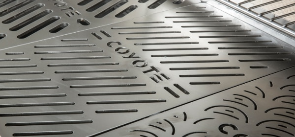 Laser-cut Signature Grates ensure each food's proper flame exposure