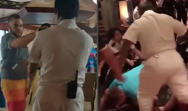Carnival Cruise brawl