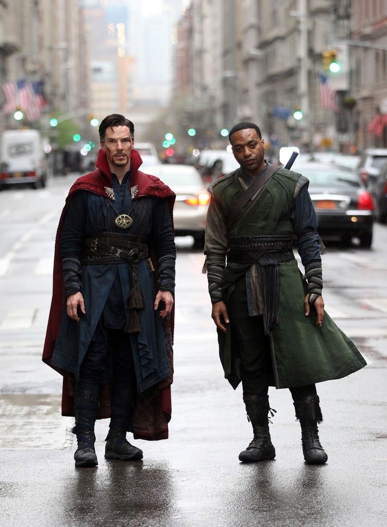 Benedict Cumberbatch and Chiwetel Ejiofor Getty