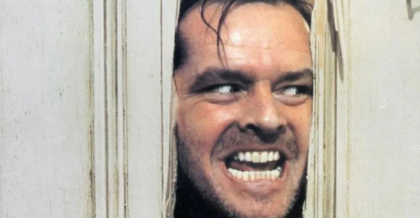 Jack Nicholson as a Bad dad in The Shining