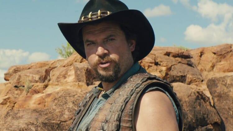 Danny McBride as Crocodile Dundee's son