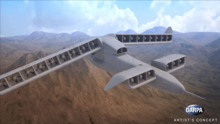 Aurora Flight Sciences' LightningStrike design won DARPA's VTOL-X Phase 2 contract