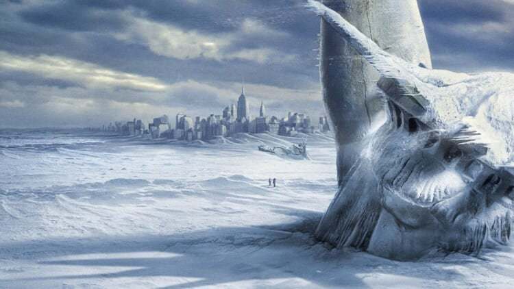 Image from disaster movie The Day After Tomorrow