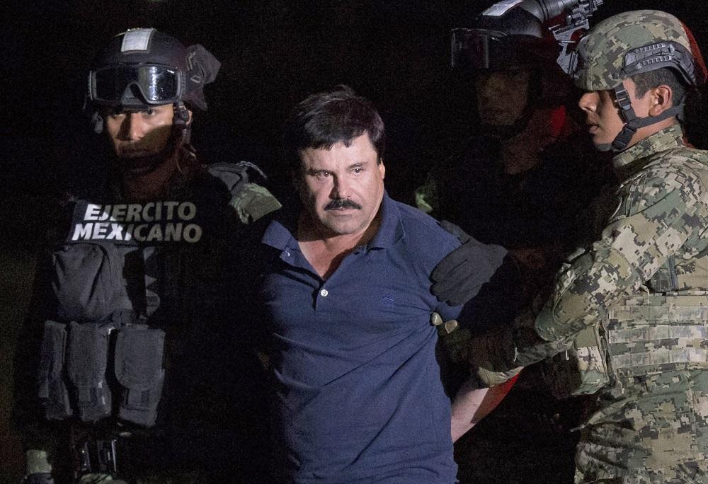El Chapo arrest AP
