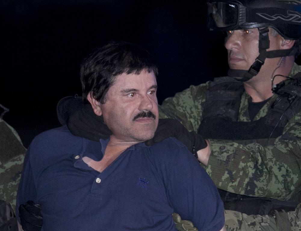 El Chapo arrest Penn AP