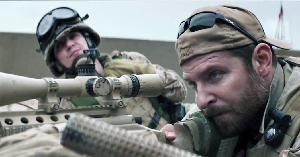 Bradley Cooper American Sniper Promo [YouTube]