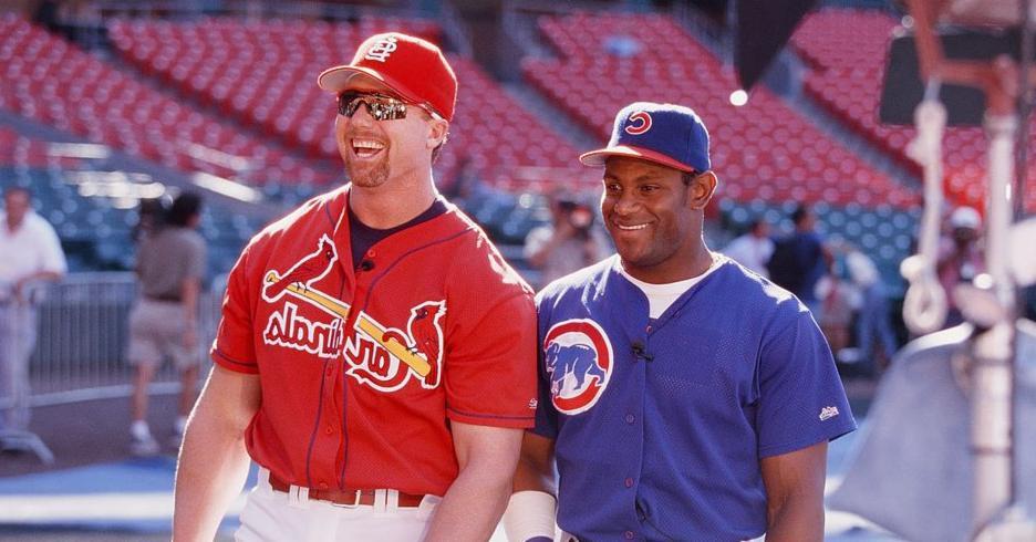 Mark McGwire and Sammy Sosa