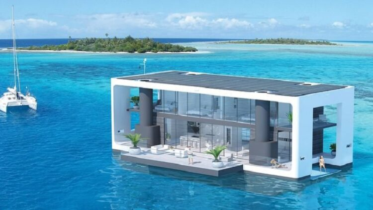 Arkup floating house yachts