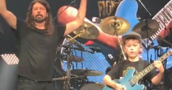 Foo Fighters Kid Promo