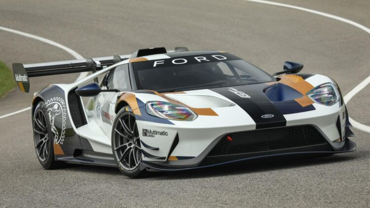 Ford GT MkII Promo