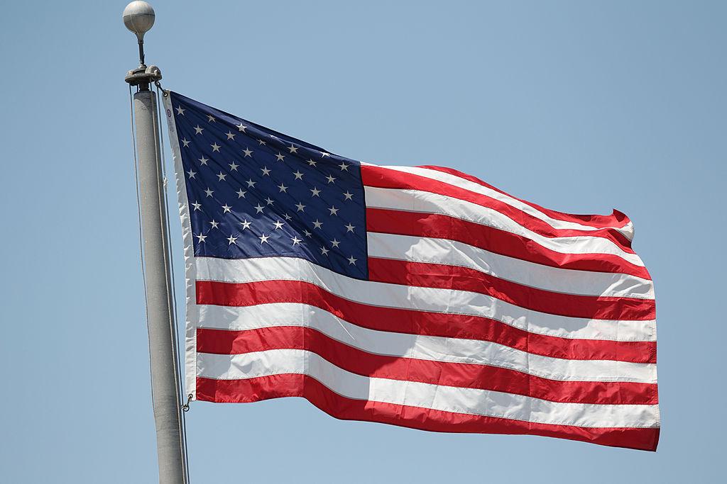 American flag, Memorial Day.
