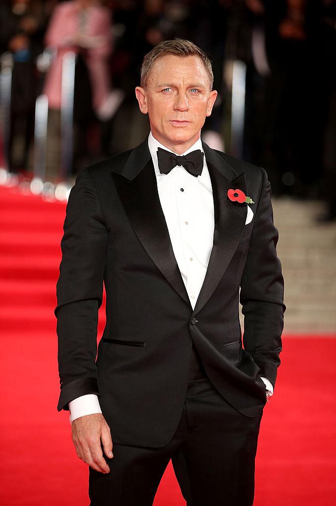 Daniel Craig, aka James Bond