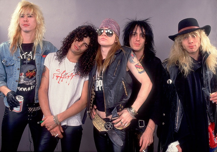 Guns N' Roses promo Getty