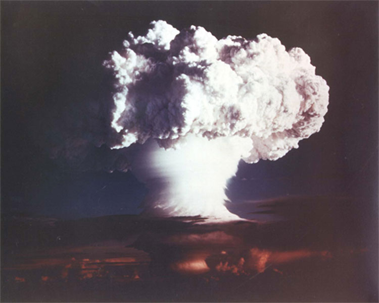 H-bomb test US 50s