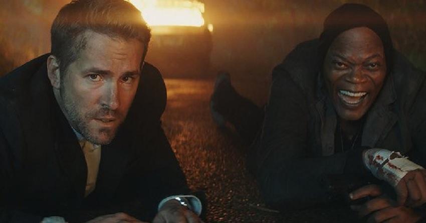 Hitman's Bodyguard promo
