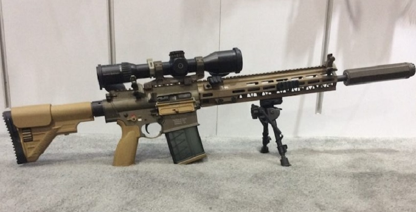H&K M110A1