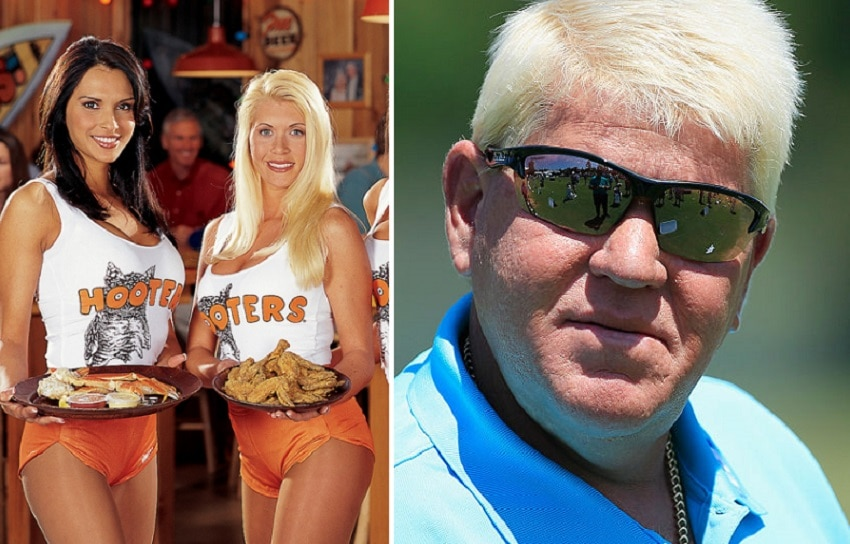 Hooters girls and John Daly