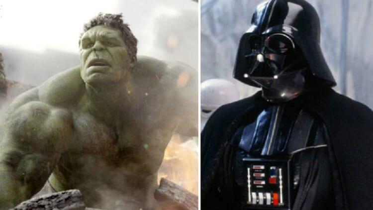 Hulk and Darth Vader