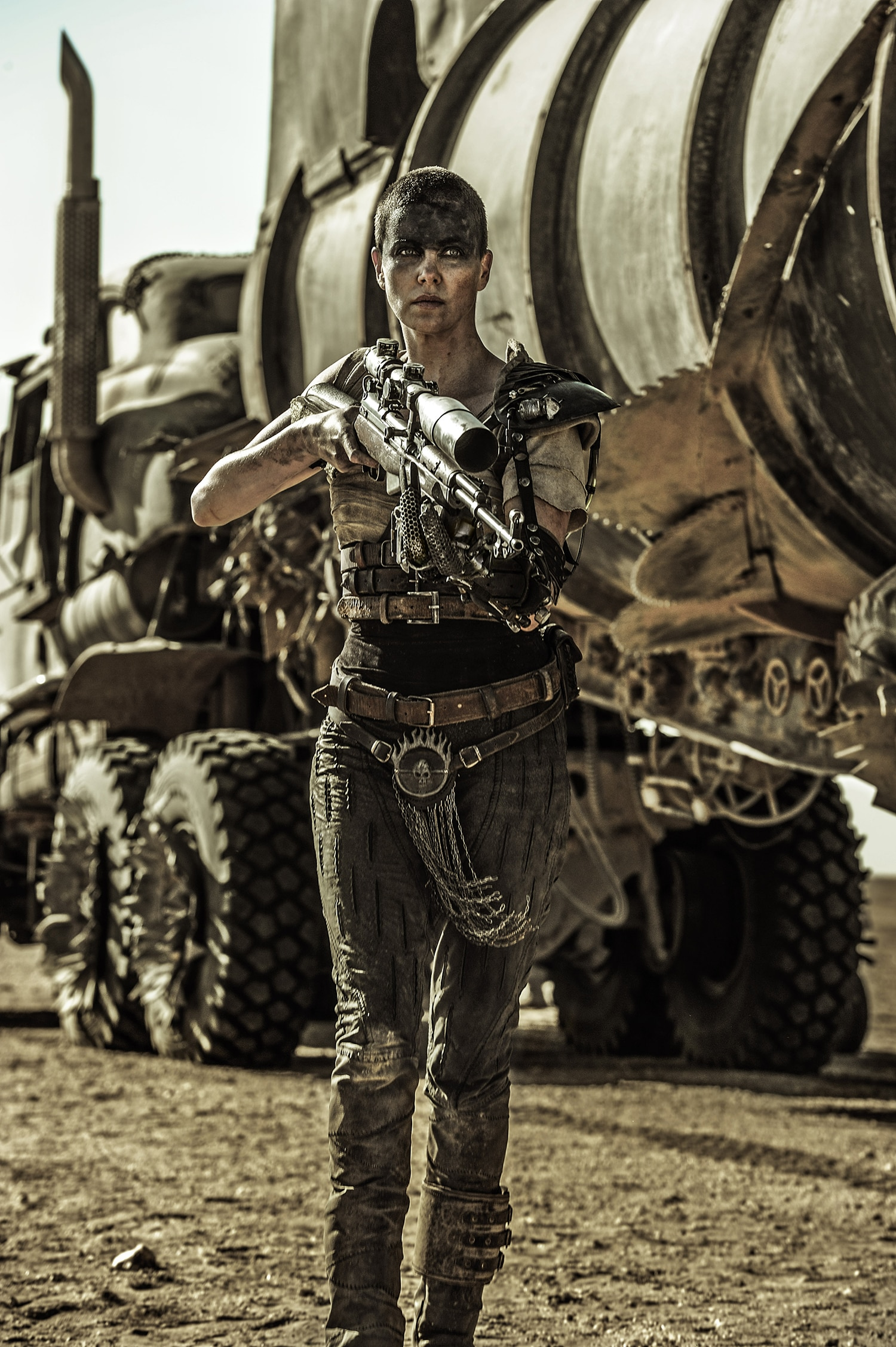 Imperator Furiosa (Charlize Theron)  - Photo by: Jasin Boland/Warner Bros. Pictures