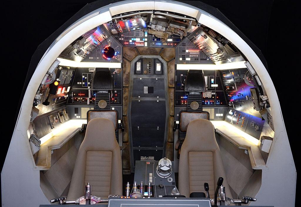 Millennium falcon interior