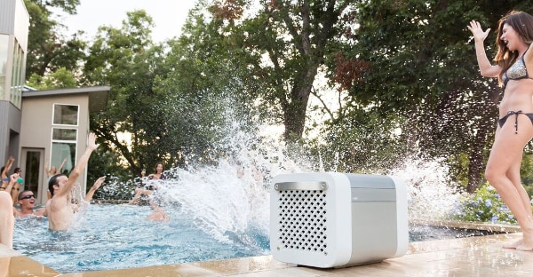 Kube is made to withstand water and weather