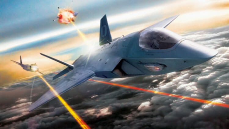 Lasers jets Air Force