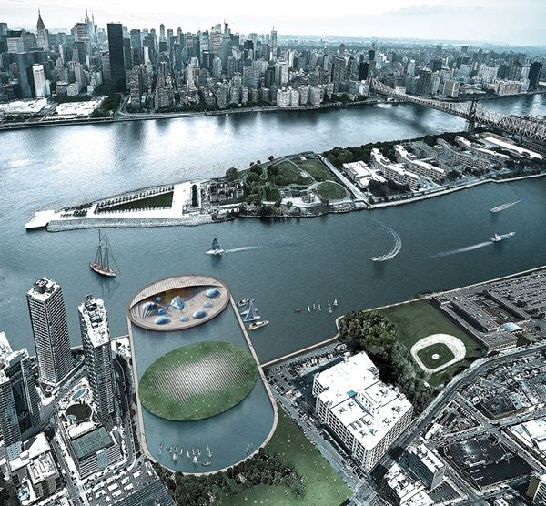 It redefines both aquariums and NYC's waterfront