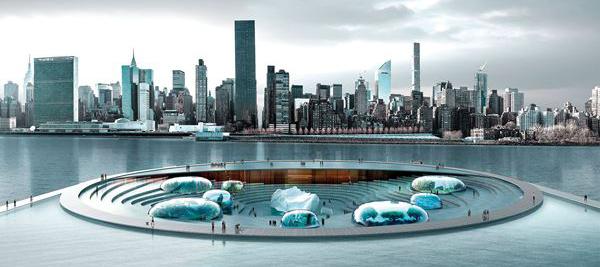 Piero Lissoni's team's winning NYC Aquatrium entry