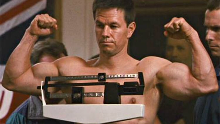"""Mark Wahlberg in """"The Fighter."""""""