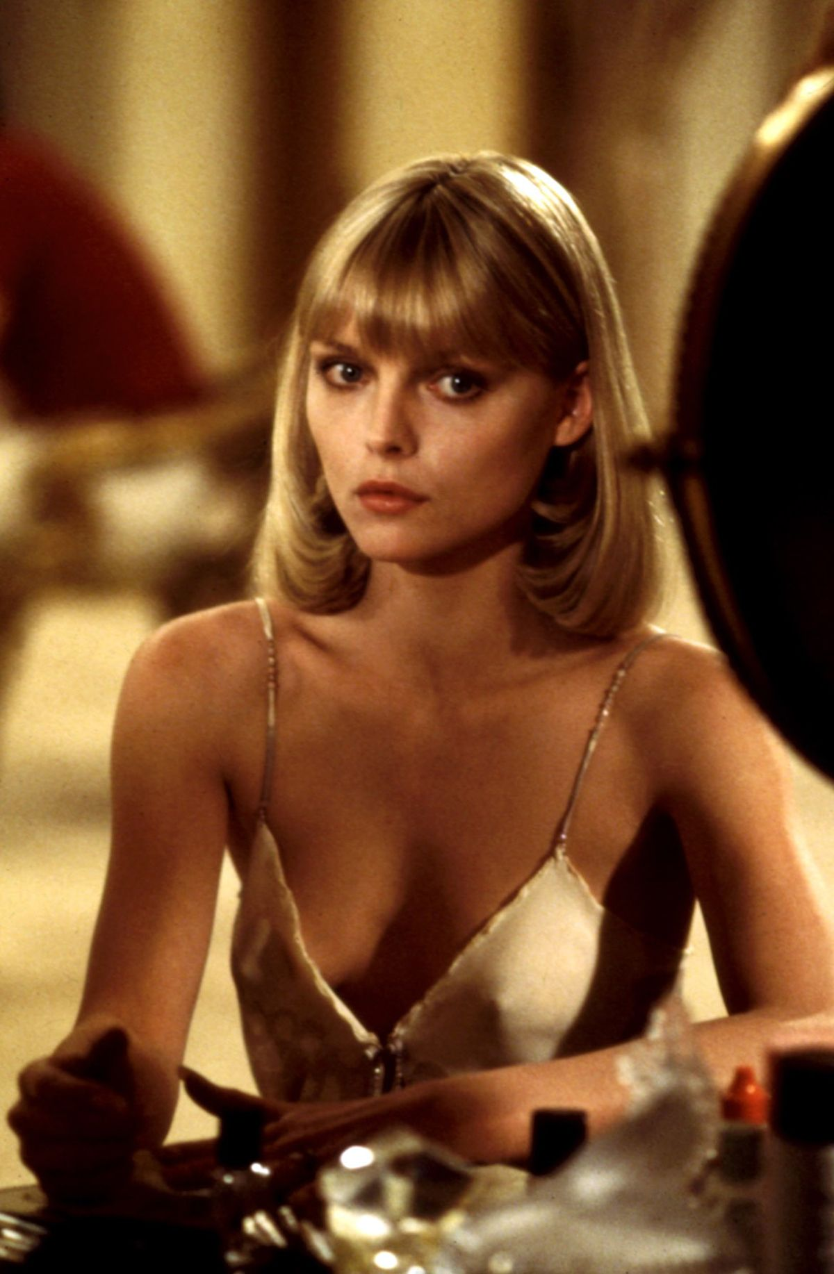 Michelle Pfeiffer's signature role may have been portraying Tony Montana's icy arm candy in Scarface