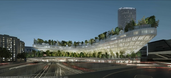 It looks to have a positive impact on the city skyline