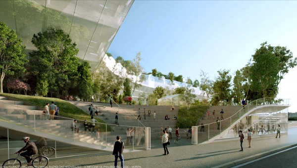 Mille Arbres will feature public parks and promenades